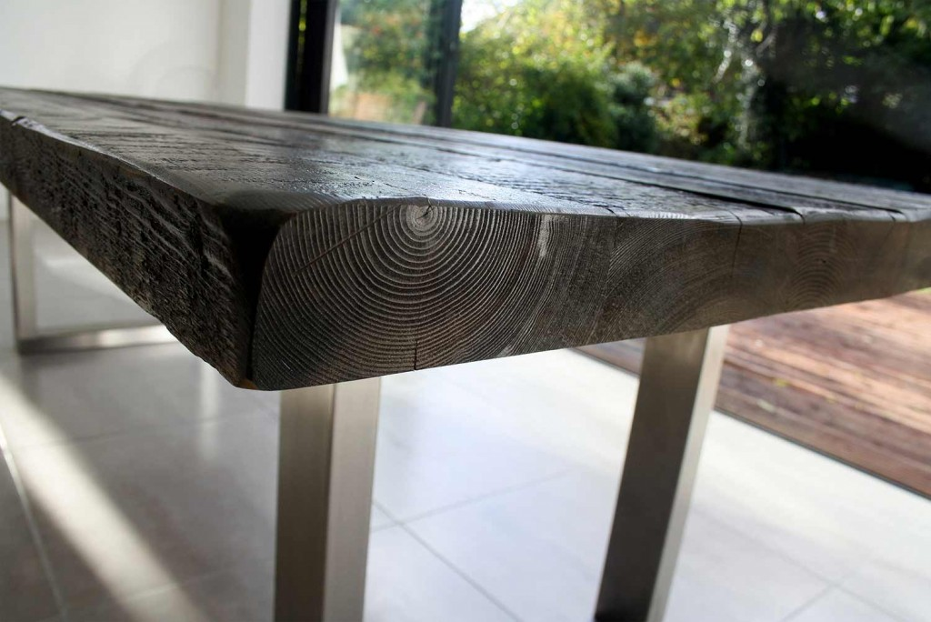 mac and wood table