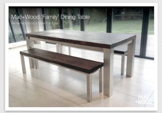 Mac+Wood Family Table