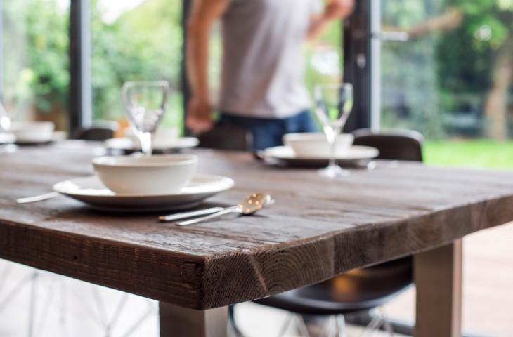 Reclaimed Wood dining tables by Mac Wood. The Signature Table By Mac Wood   See Our Most Popular Design