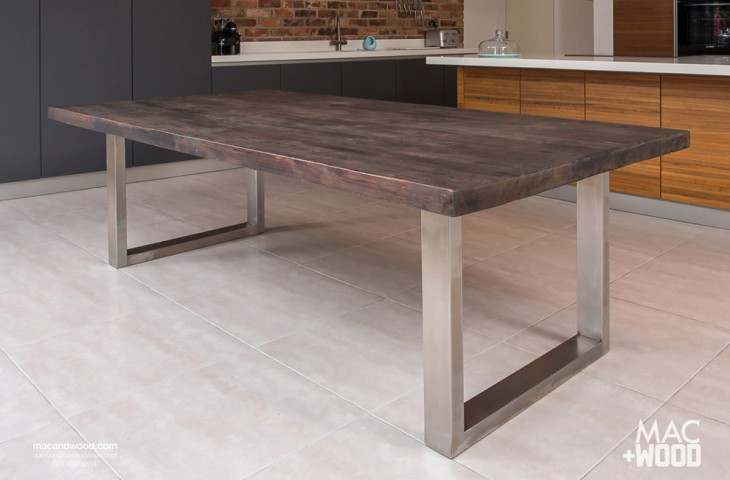 The signature table by mac wood see our most popular design for Modern kitchen table