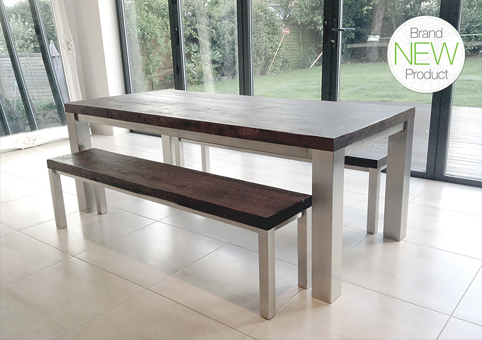 The Mac Wood Family Dining Table Is Handmade To Order In The UK