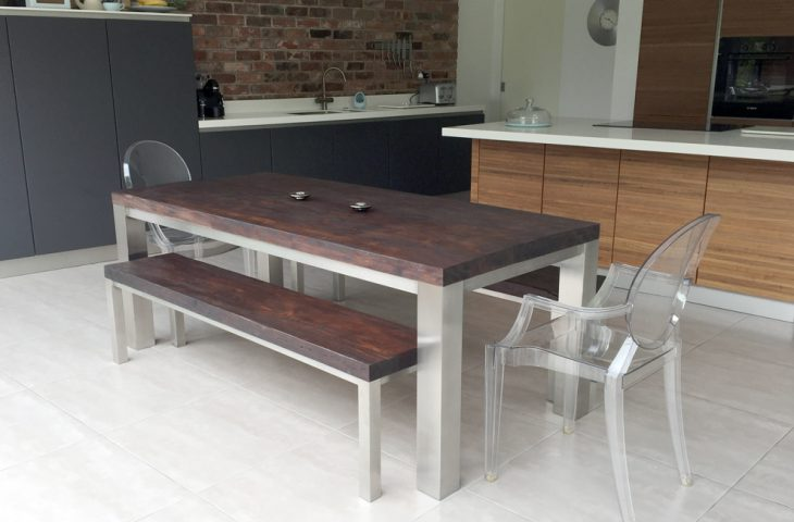 Large Family Dining Table by Mac+Wood
