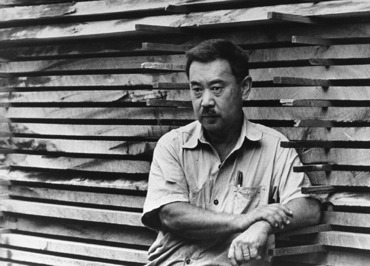 George Nakashima. Source: http://www.nakashimawoodworker.com/ image by unknown.