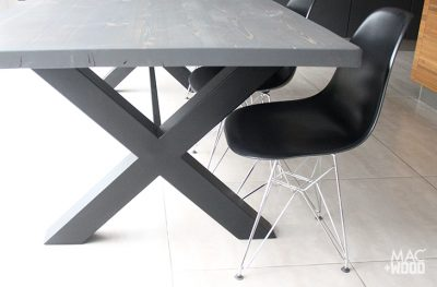 Mac+Wood Cross Table and chair