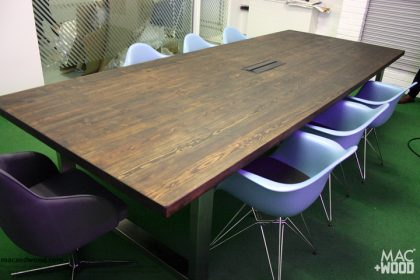 Mac+Wood meeting room table