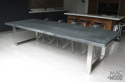 Mac+Wood Zinc table