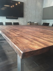 large meeting room tables