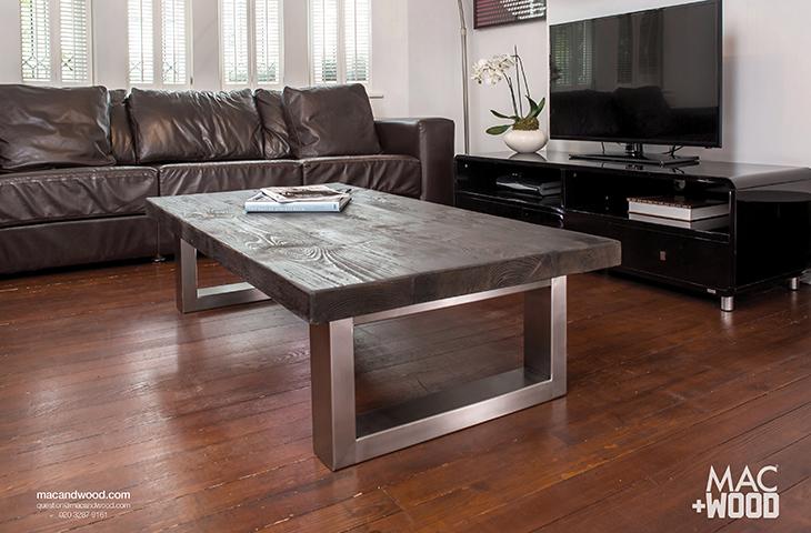 Contemporary Coffee Tables Copper Zinc Dekton Wood Coffee Tables