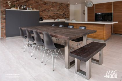 contemporary wood kitchen tables contemporary dining tables large dining tables in copper 5755