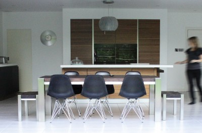 modern kitchen table with bench. Trunk Table Chairs And Benches. \u201c Modern Kitchen With Bench
