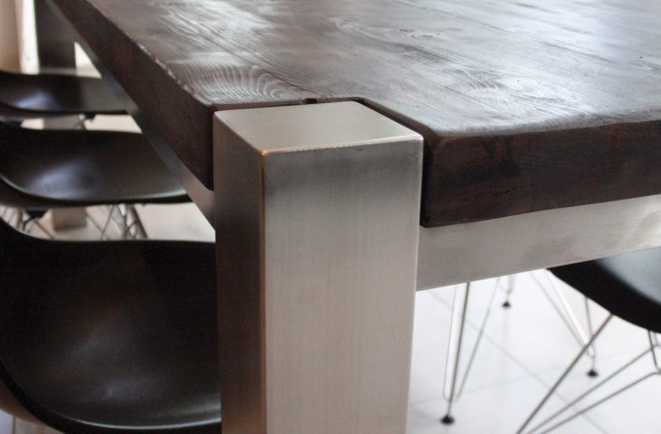 Mac+Wood Trunk Table Leg