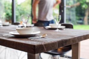 Large dining tables and planning the perfect family meals
