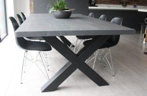Mac+Wood Cross Frame Table