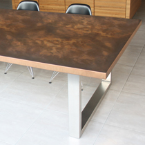 Aged Copper Table