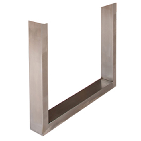 Brushed Stainless Steel frame