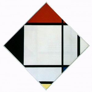 Tableau Number 4 by Piet Mondrian