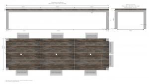 Bespoke furniture created by Mac+Wood