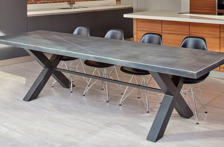 Mac+Wood Cross table design