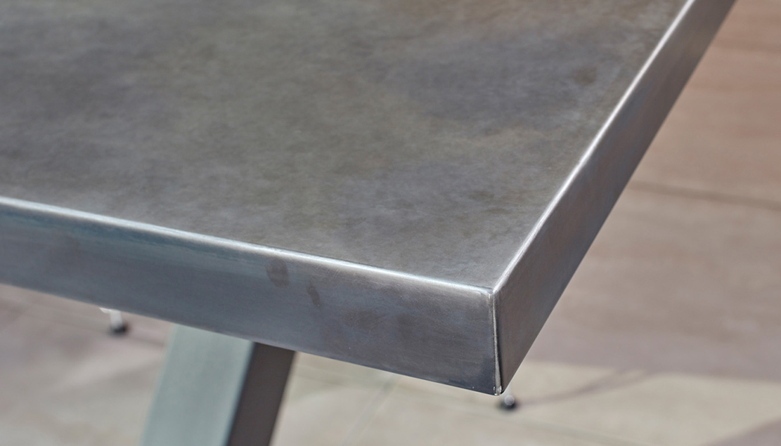 Contemporary Zinc Furniture Zinc Tables Zinc Top