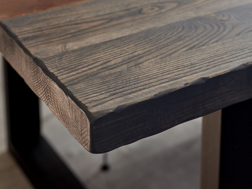 Ash and Copper table top