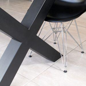 Cross table frame
