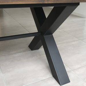 Cross table frame