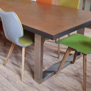 Signature natural copper table top
