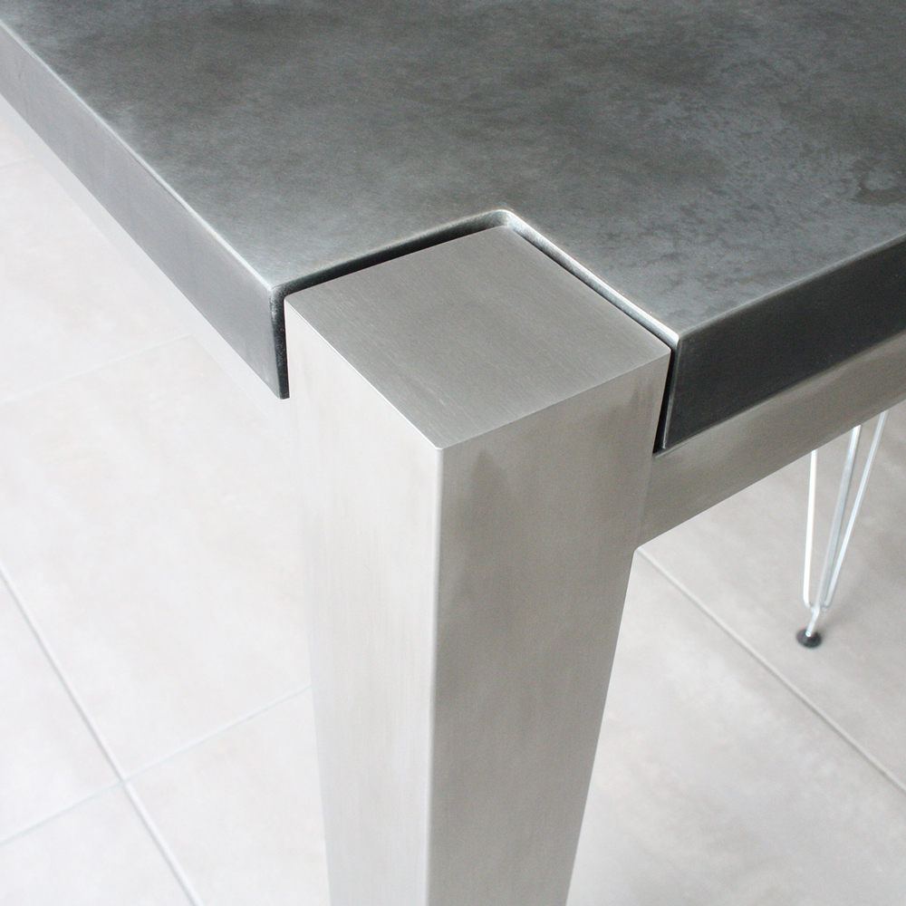 Brushed Stainless Steel Frames - Modern Furniture With Steel