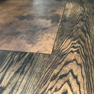 Dark Ash and Aged Copper Inlay