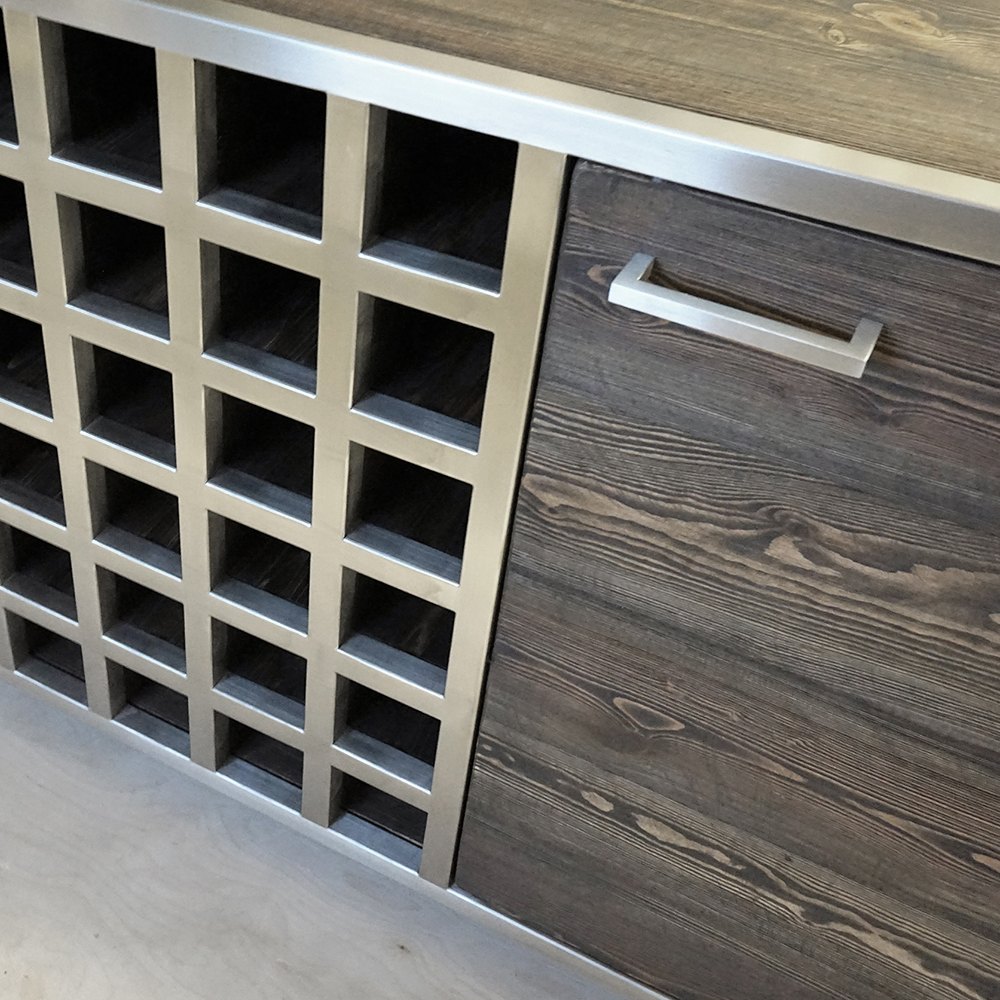 Mac&Wood Sideboard with Wine Rack