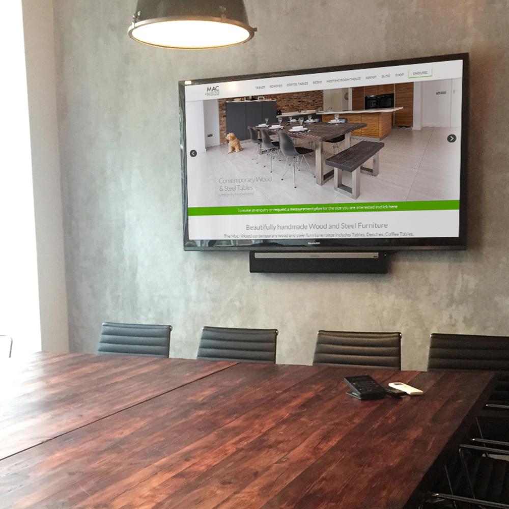 Mac&Wood meeting room table square